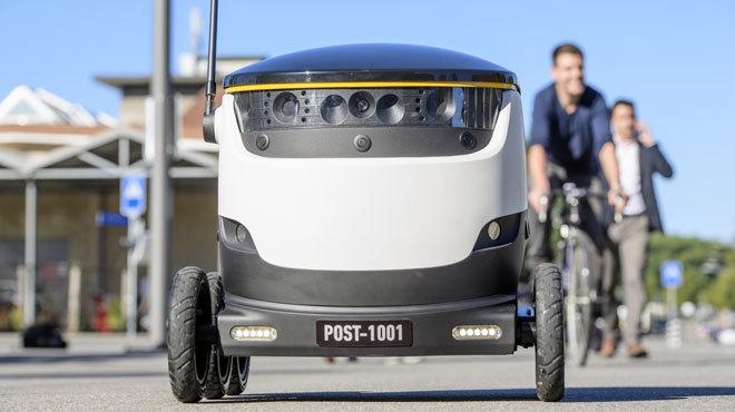 Robots to begin delivering mail around Switzerland