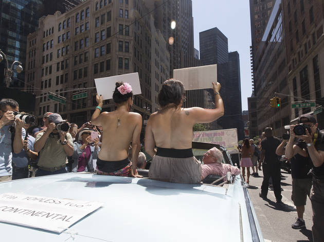 Check out incredible photos from Go Topless Day 2016