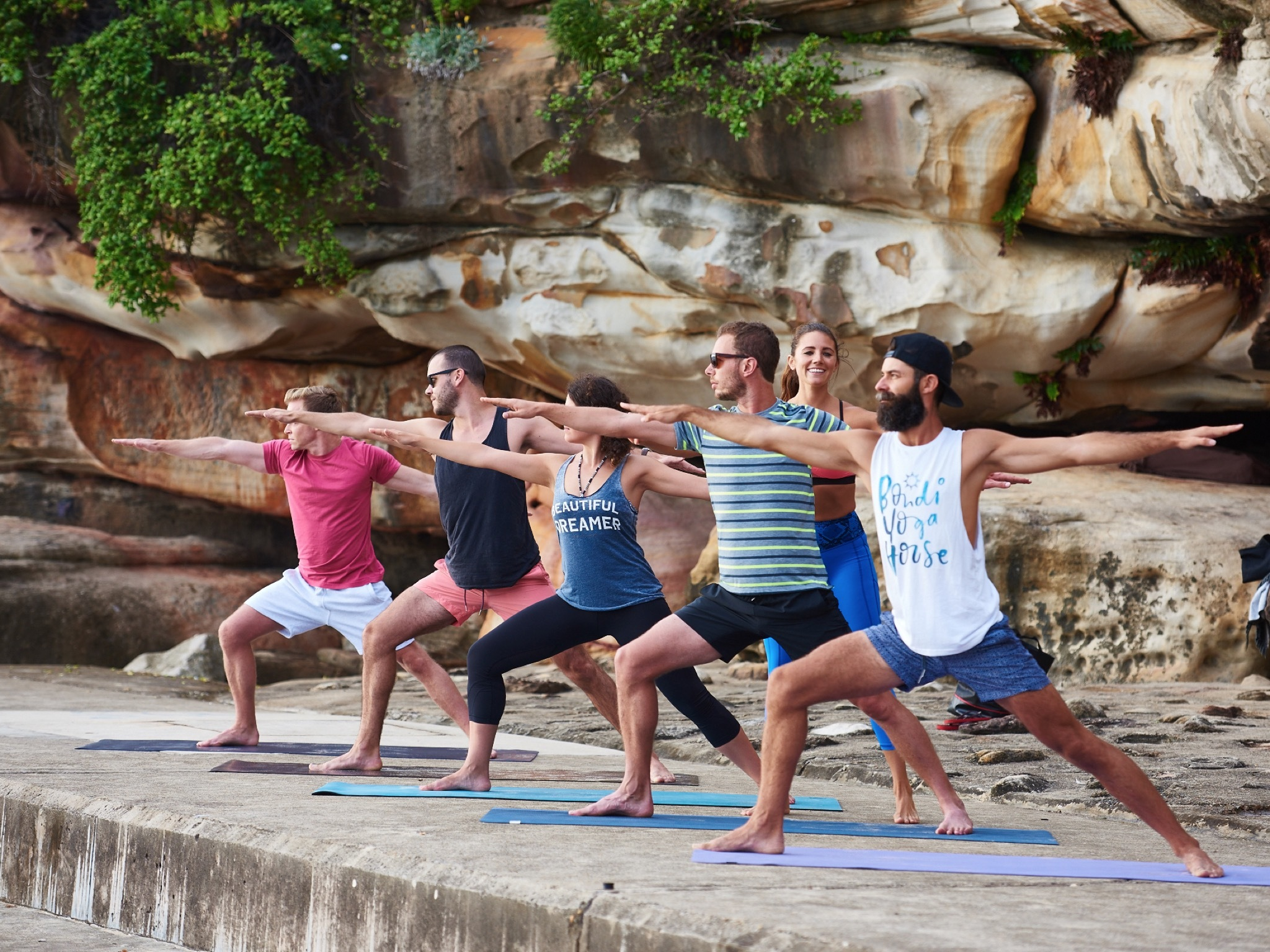 Exercises at Bondi Yoga House