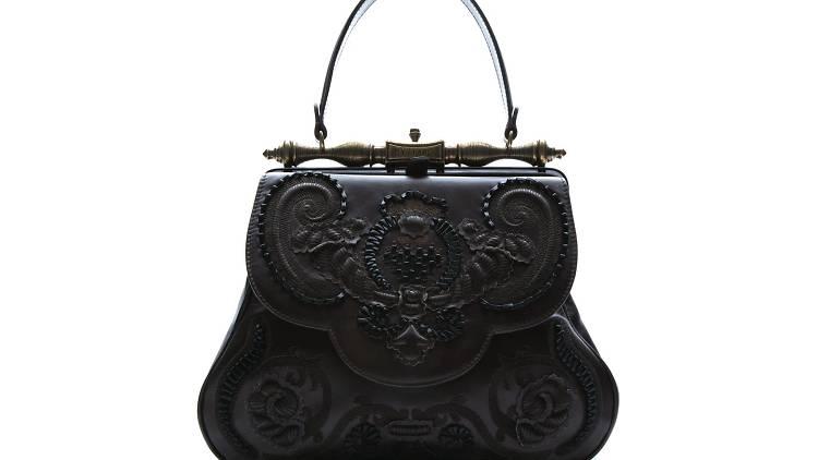 Product shot of black bag