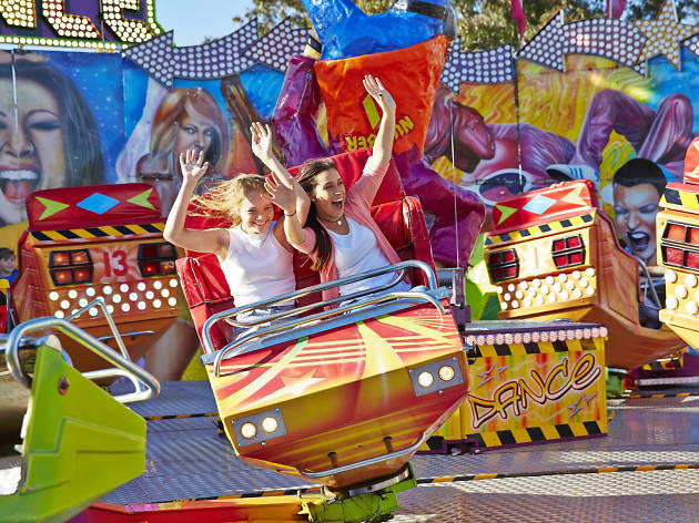 Rides at the The Royal Melbourne Show