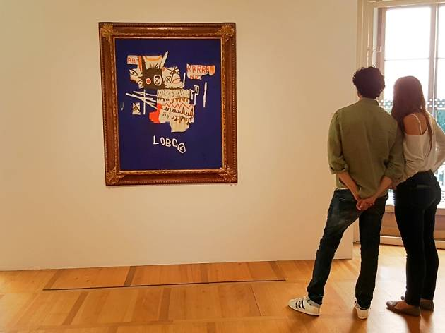 Basquiat, Dubuffet, Soulages with an invisible art collector