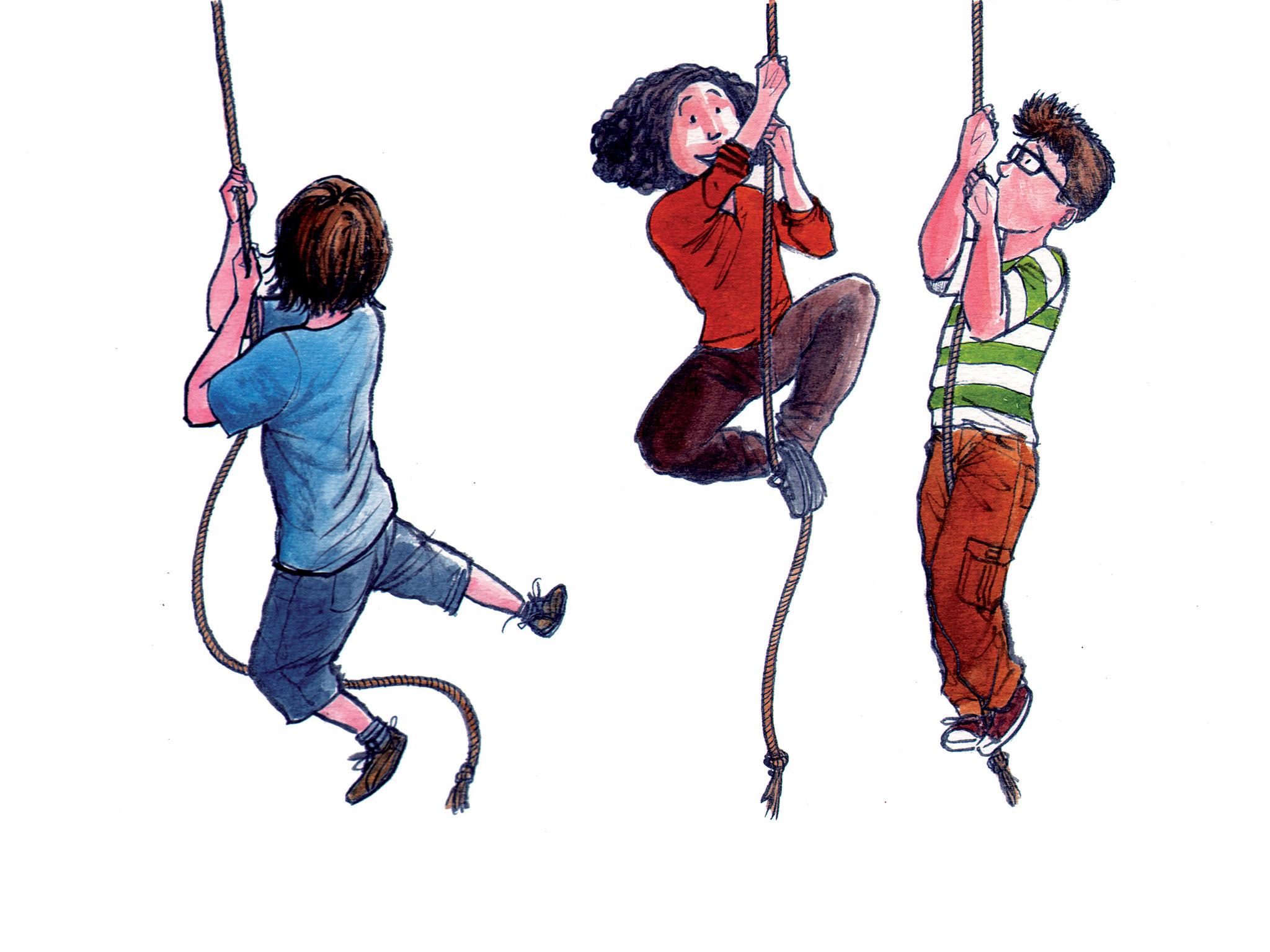 Actividades para miúdos destemidos