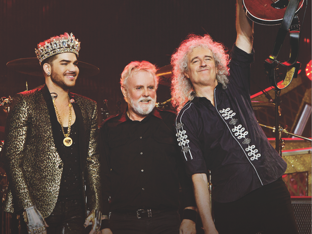 Interview: Adam Lambert, Brian May and Roger Taylor of Queen