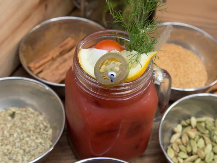 Bloody Mary Brunch Bar