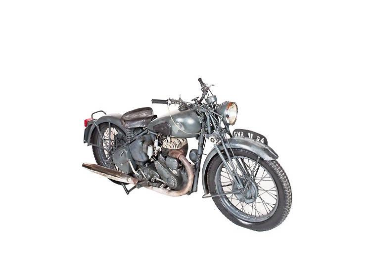Ver motas de outros tempos no Museu da Guarda Nacional Republicana