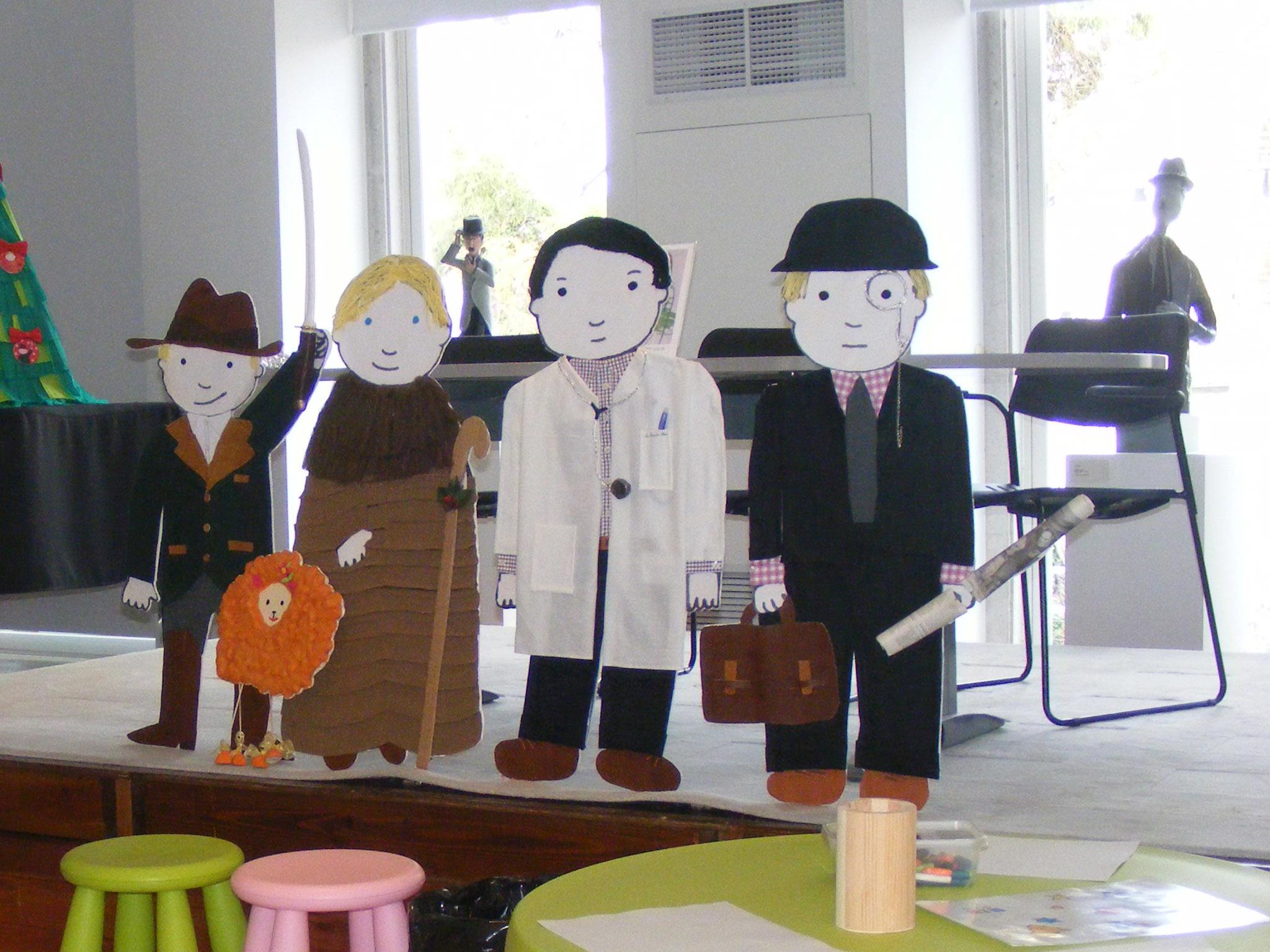 Espaço infantil da Casa Fernando Pessoa