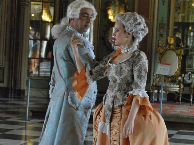 Viagem à Corte do Século XVIII, no Palácio Nacional de Queluz,