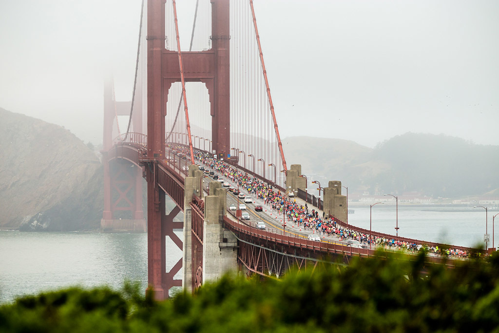 The San Fransisco Half Marathon