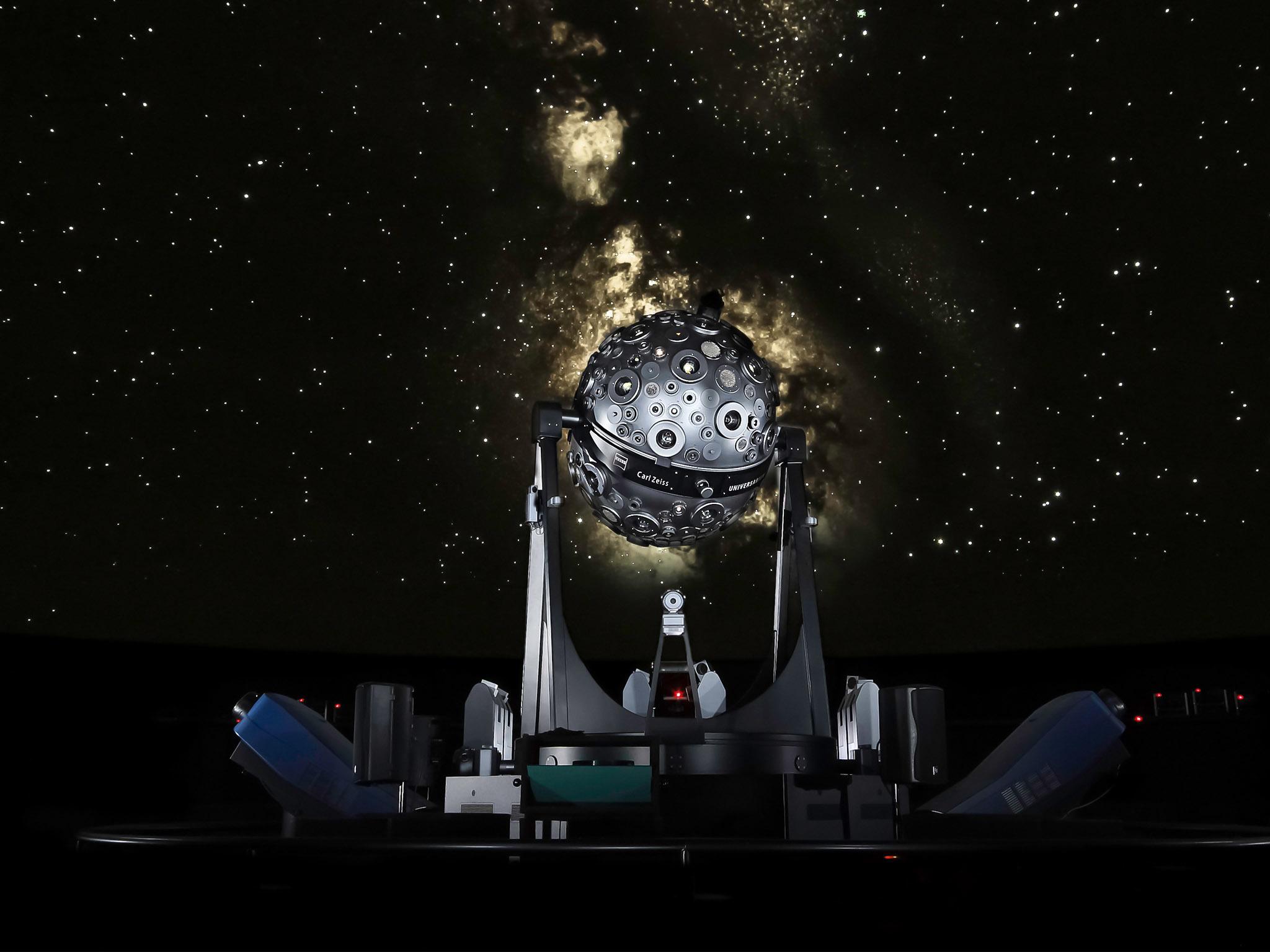 Projector do Planetário Calouste Gulbenkian