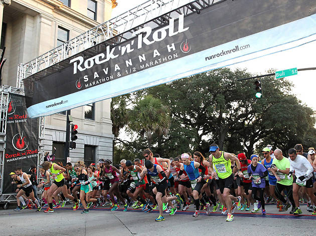 2014 Savannah Rock n Roll Marathon