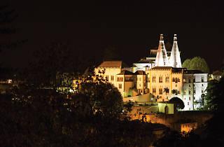 Palácio Nacional de Sintra à noite