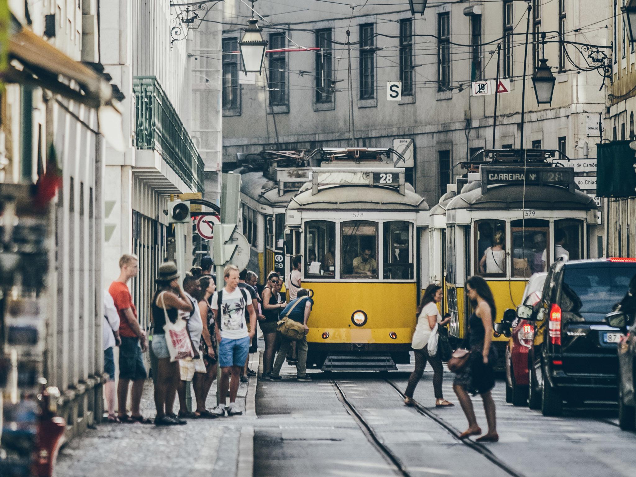 Os melhores passeios em transportes públicos