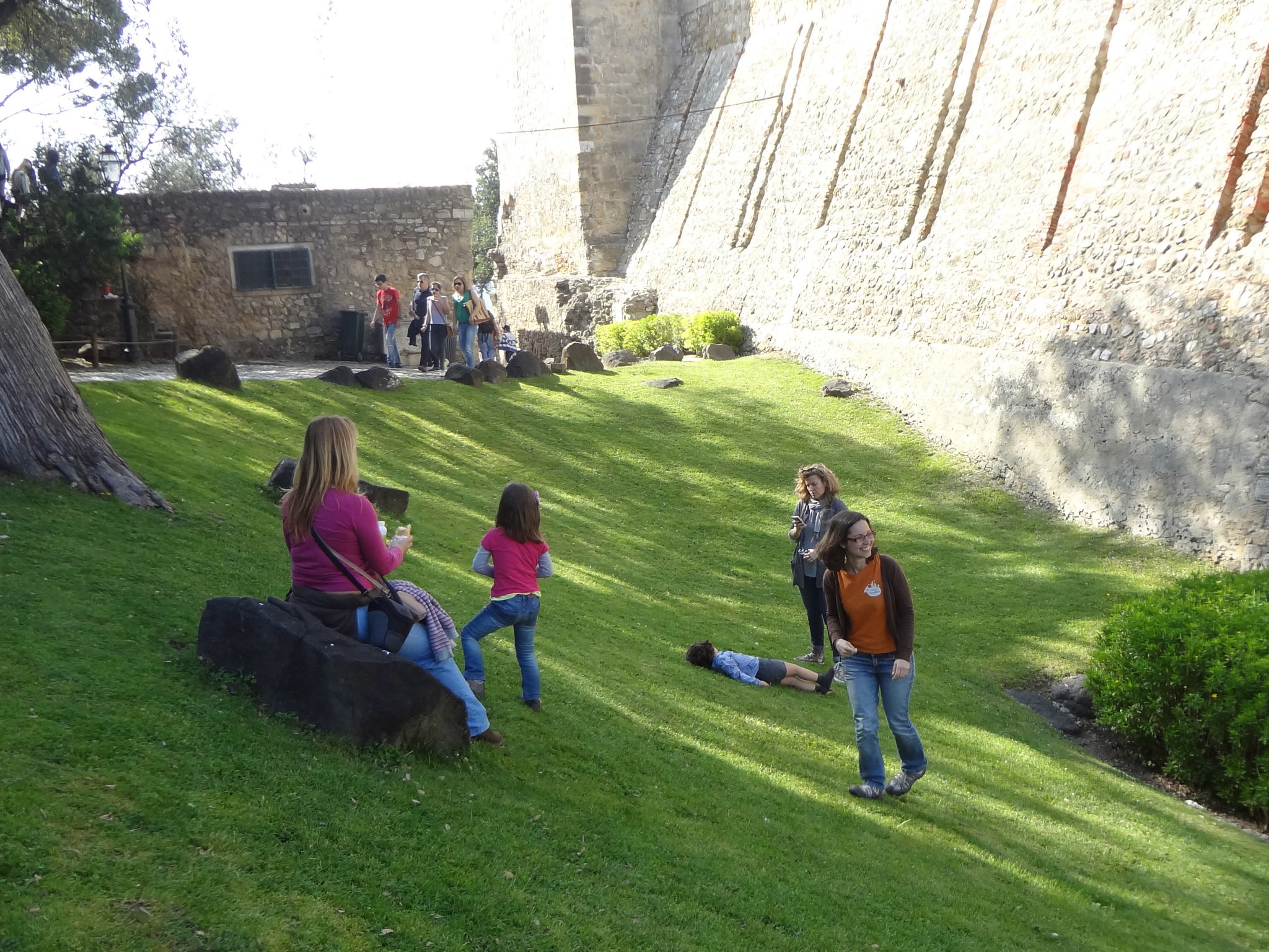 Time Travelers no castelo