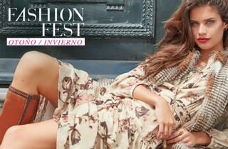 Sara Sampaio en Fashion Fest  (Foto: Cortesía Liverpool)