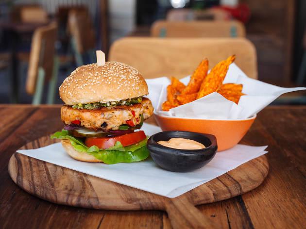 Burger Month at Salmon & Bear