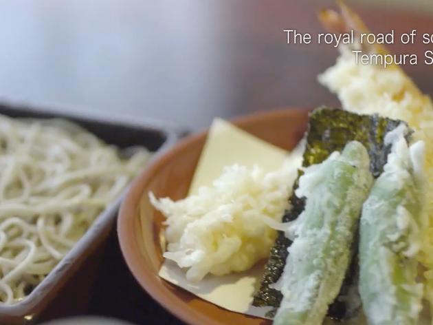 Eat at Japan's oldest soba joint before rocking out at Taku Taku