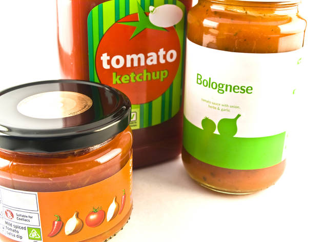 Bottled bolognese and cheese