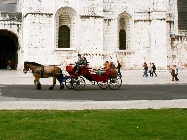 Passeios de Charrete em Belém pela Qtour