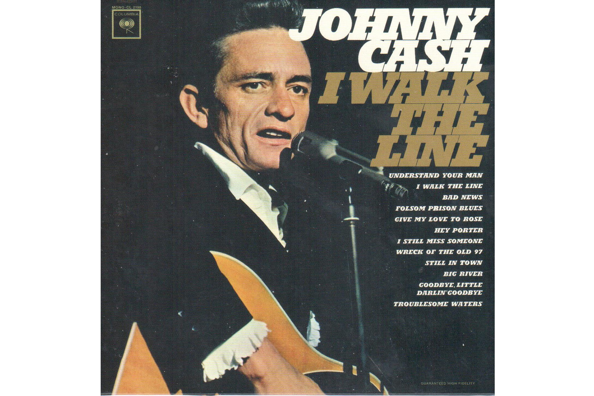 """I Walk the Line"" Johnny Cash"