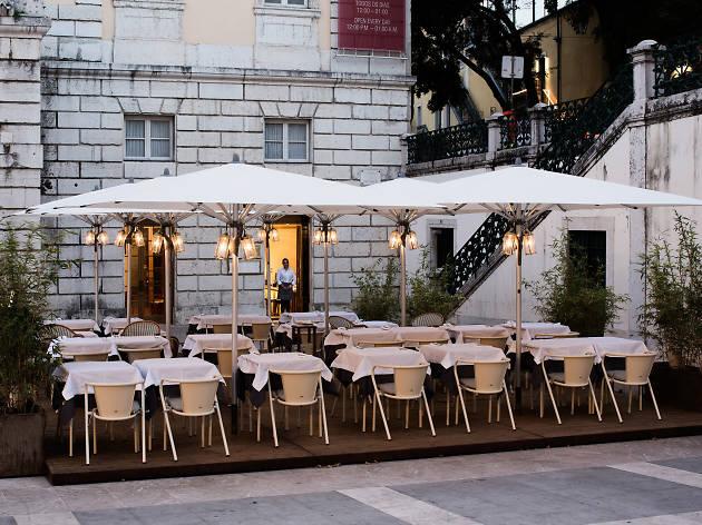 Esplanada do Café Lisboa