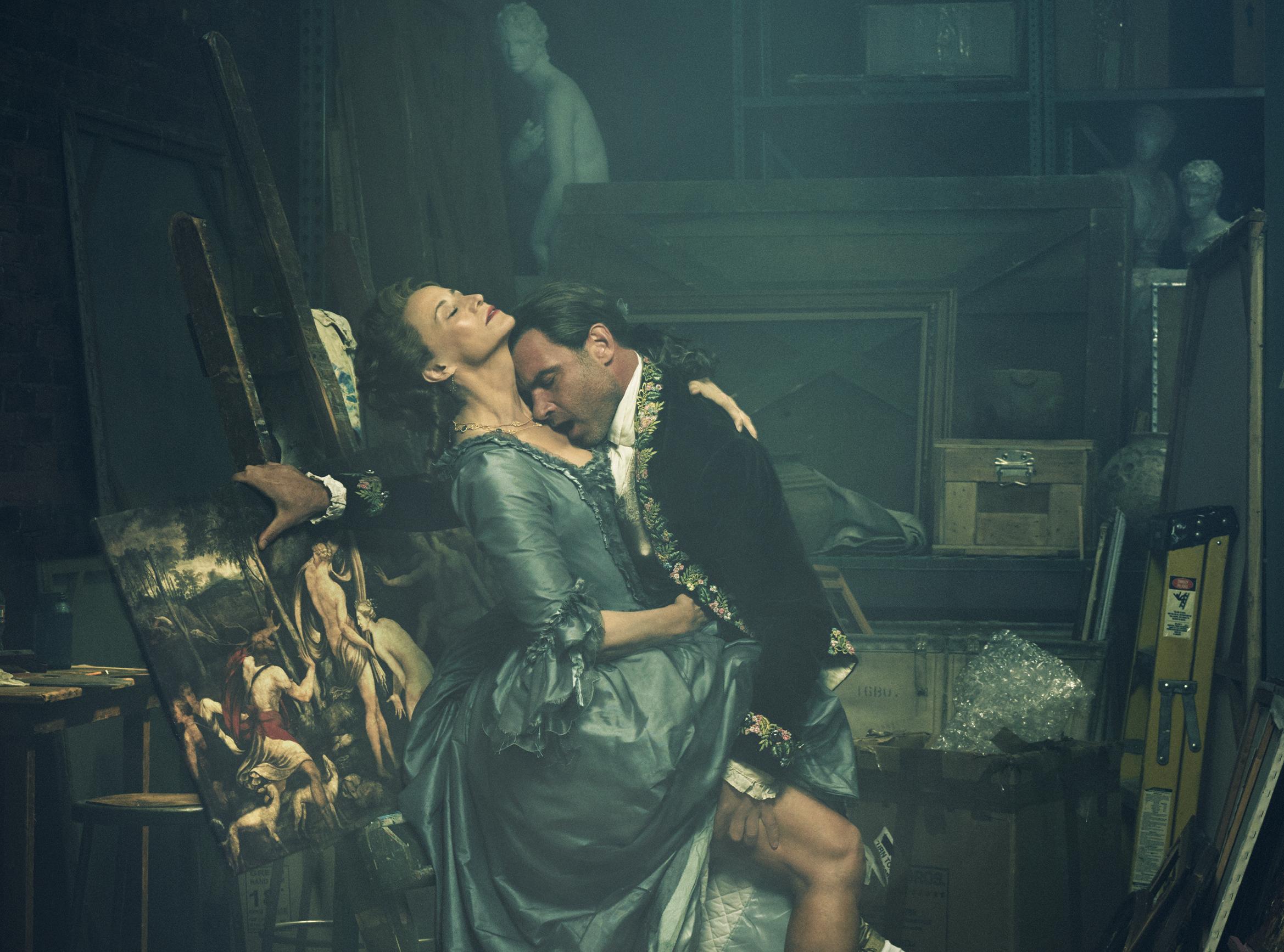 Liev Schreiber & Janet McTeer in Les Liaisons Dangereuses
