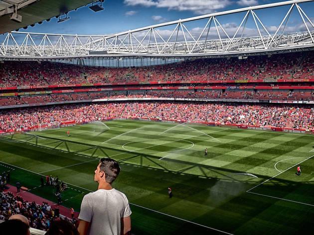 Arsenal play at Emirates Stadium