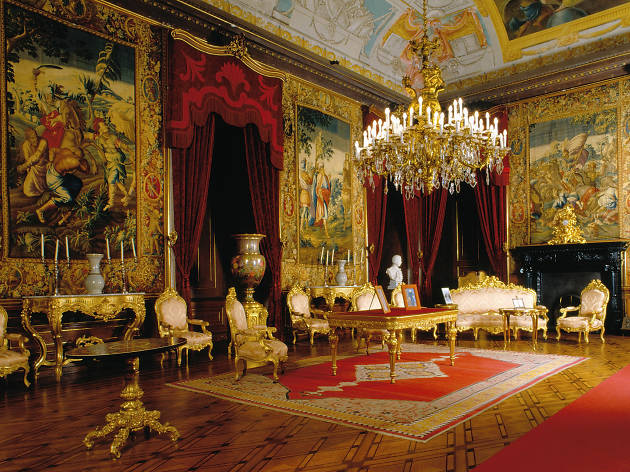 Sala do Despachio do Palácio Nacional da Ajuda