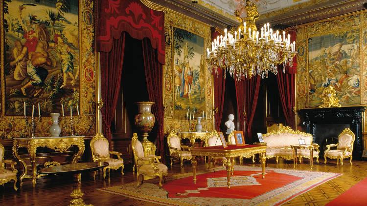 Sala do Despachio do Palácio Nacional da Ajuda