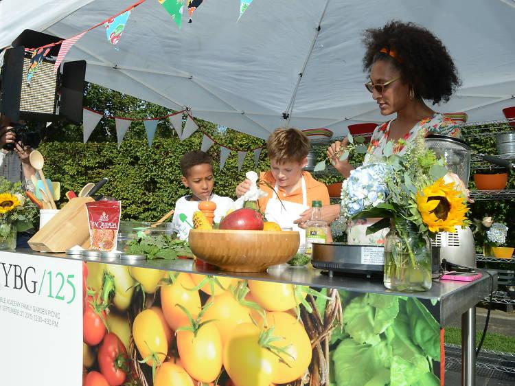 Edible Academy Family Garden Picnic
