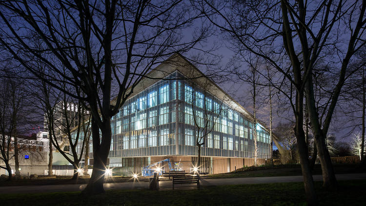 Design Museum which has been moved to Kensington High Street
