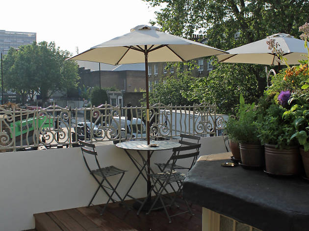 best rooftop restaurants in london, the marksman
