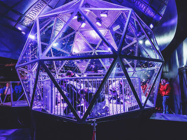 Here's how you can apply to be in the new series of 'The Crystal Maze'