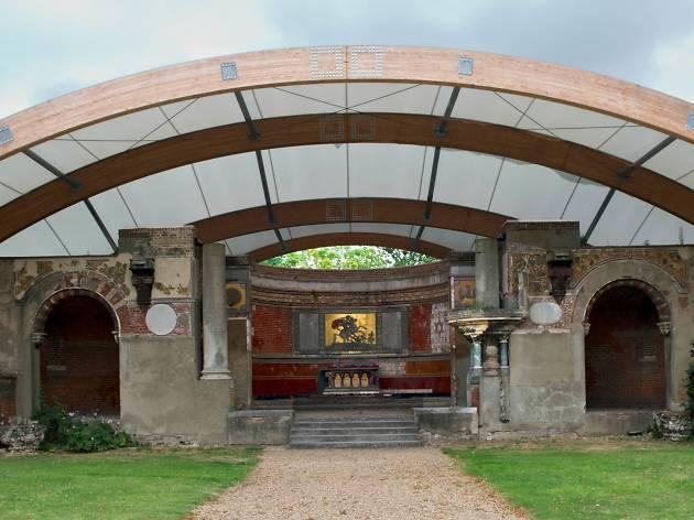 Ruins of Garrison Church - RA Barracks