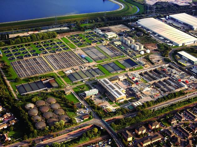 Deephams Sewage Treatment Works