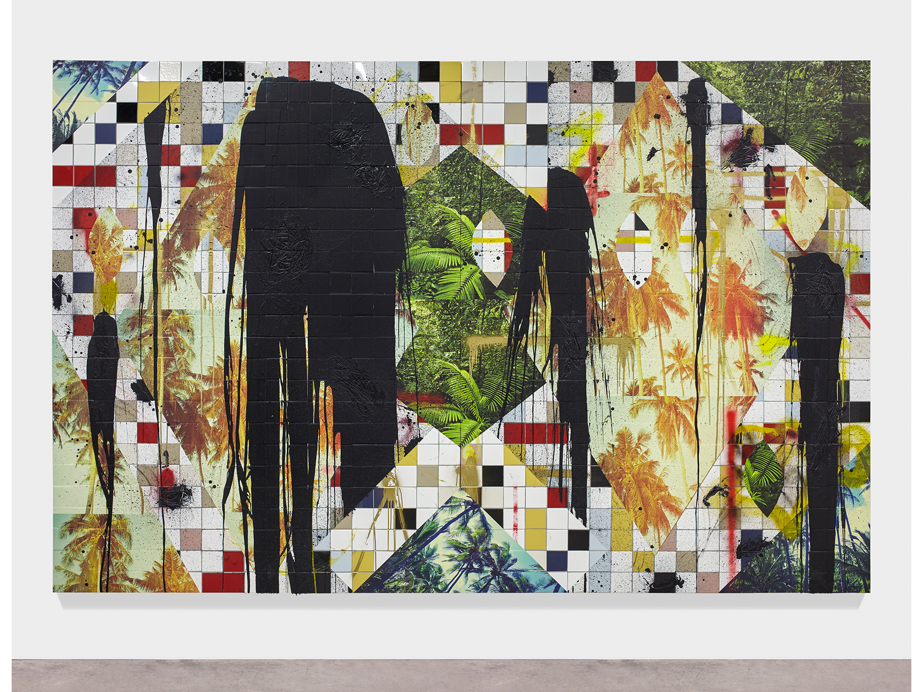Rashid Johnson, Untitled Escape Collage, 2016