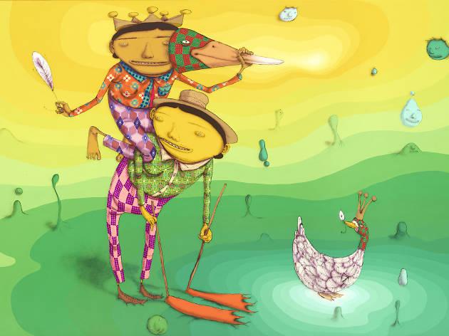 Os Gemeos, O Pato Rei (The King Duck), 2016