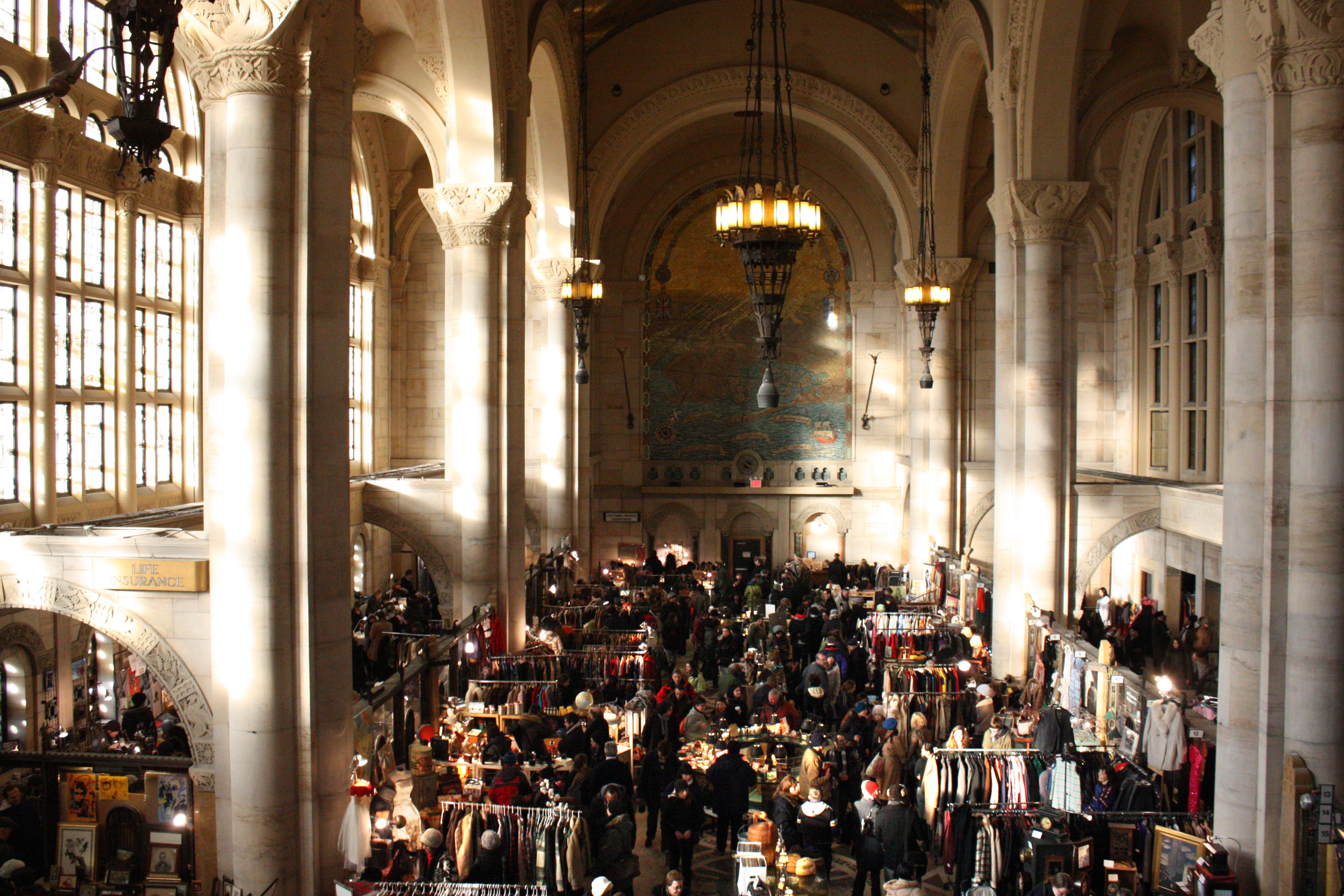 The Brooklyn Flea is returning to Fort Greene