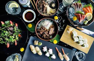 Kinki restaurant and bar, bottomless brunch