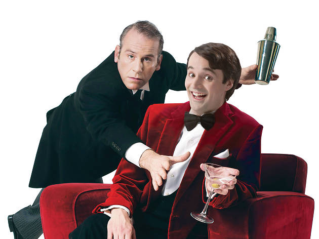 Perfect Nonsense, shot of Jeeves and Wooster