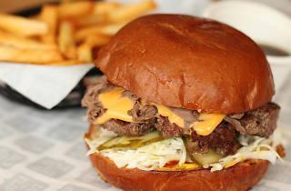 Dip and Flip burger