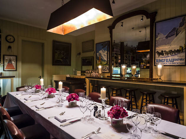 The best private dining rooms in London, Mount Street Delhi