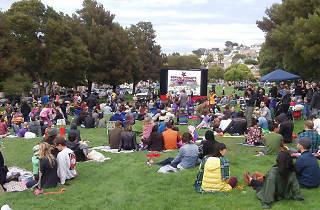 Bernal Heights Outdoor Cinema Opening Night