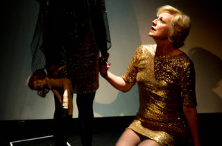 Gloria 2016 Griffin Theatre Company production still 01 feat Marta Dusseldorp photographer credit Brett Boardman