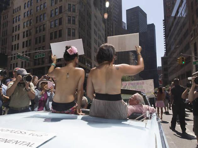 Per a quan el Go Topless Day a Barcelona?