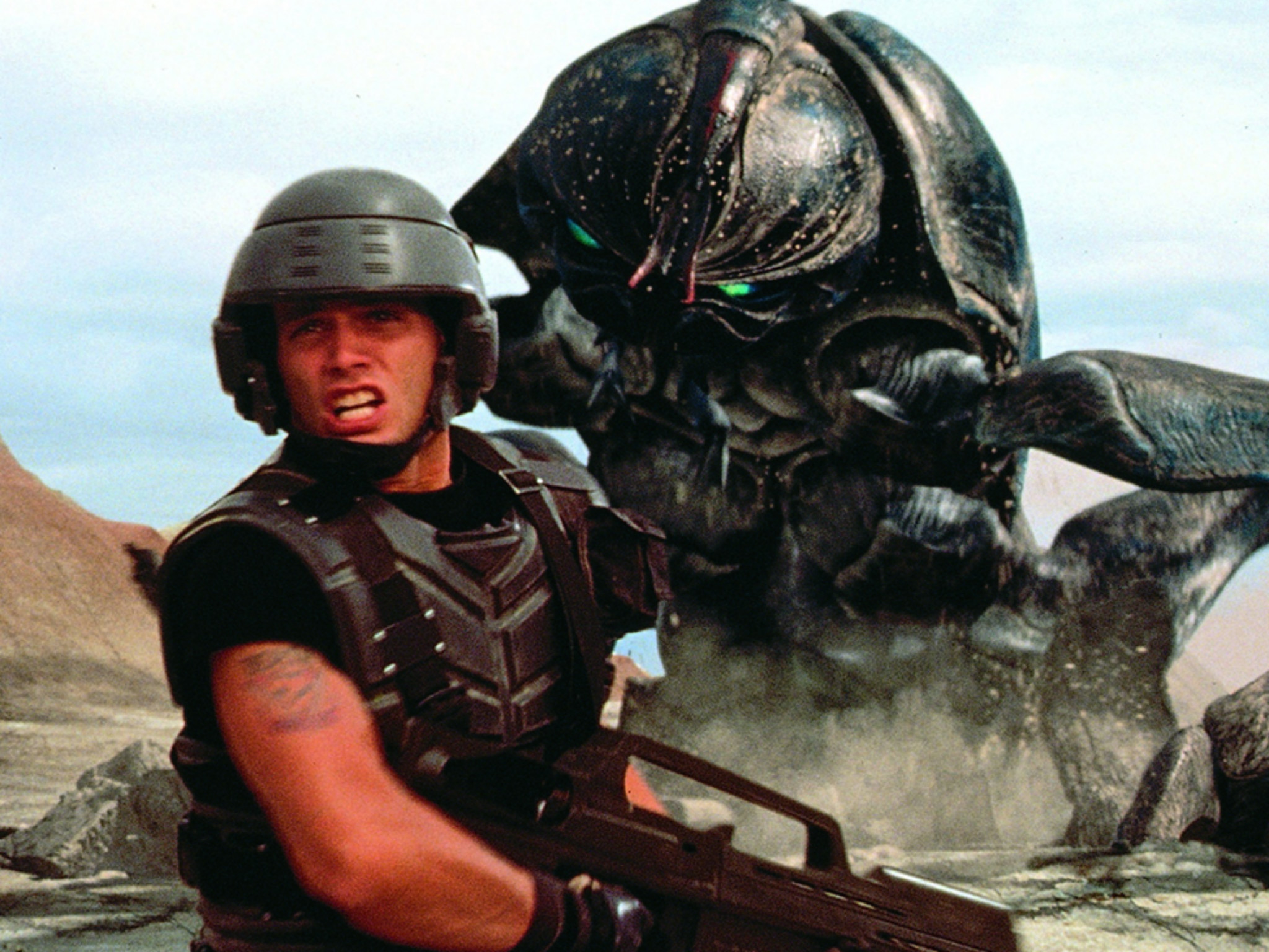 Starship Troopers, best 90s movies