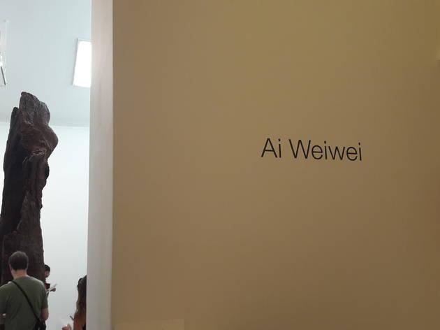 Ai Weiwei expo entrée (© Anna Maréchal / TOP)
