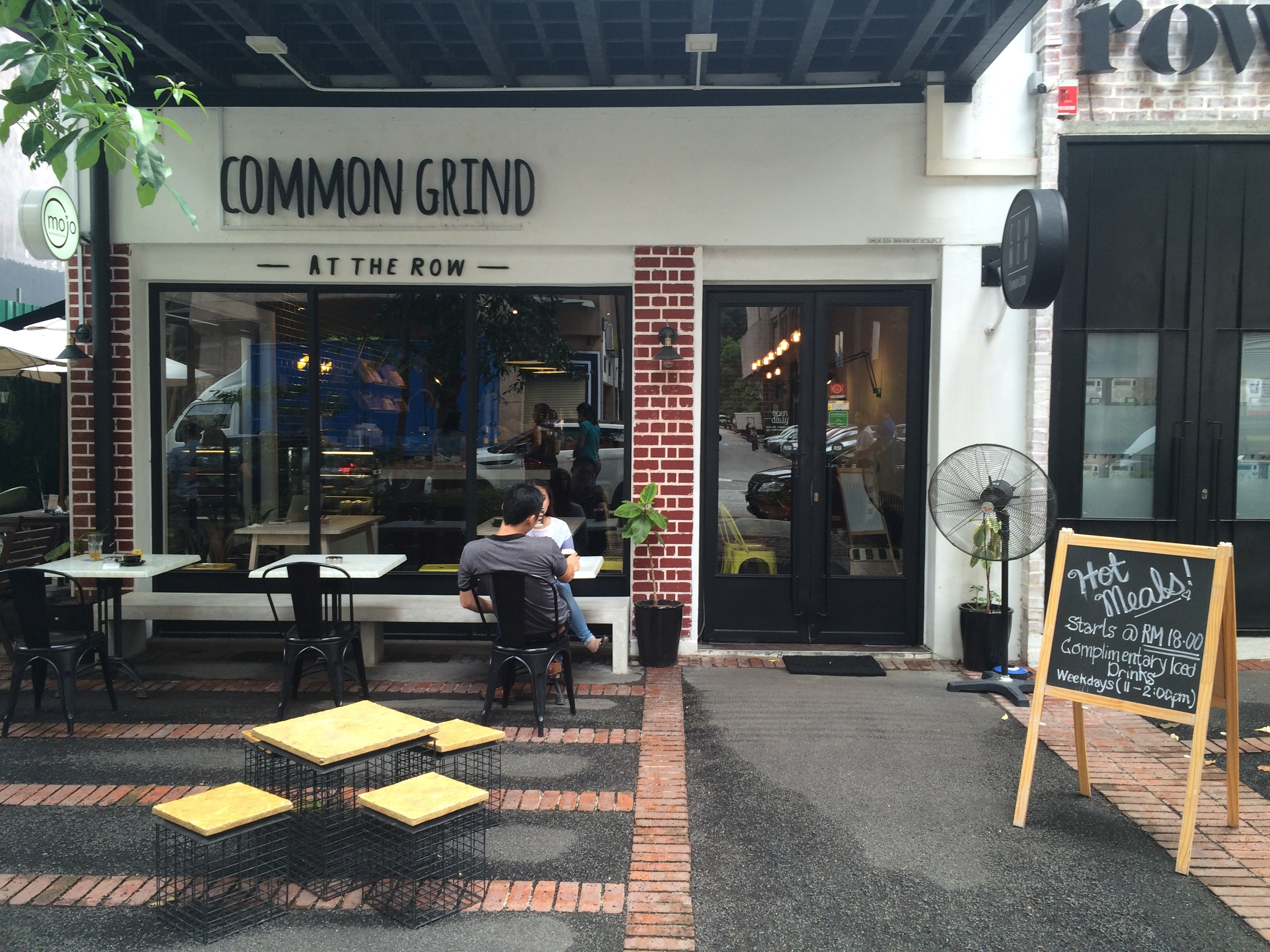 Common Grind at The Row