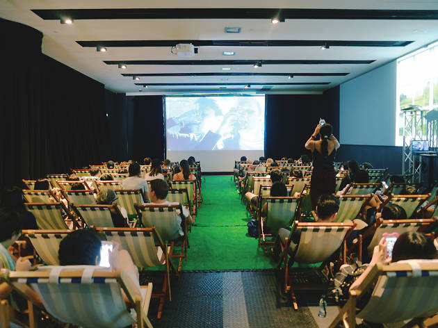 Indoor Summer Garden Cinema
