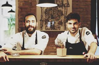 Mano Rota şefleri Oswaldo Brito ve Bernat Bermudo